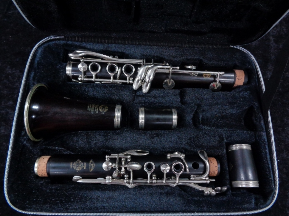 Photo Lovely Vintage Selmer Series 9 Bb Clarinet, Serial #S7265
