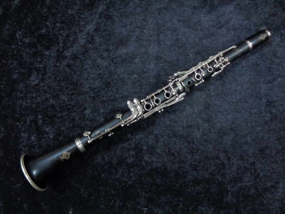 Photo 1970's Vintage Buffet Crampon Bb Clarinet – Fully Restored, Serial #107125