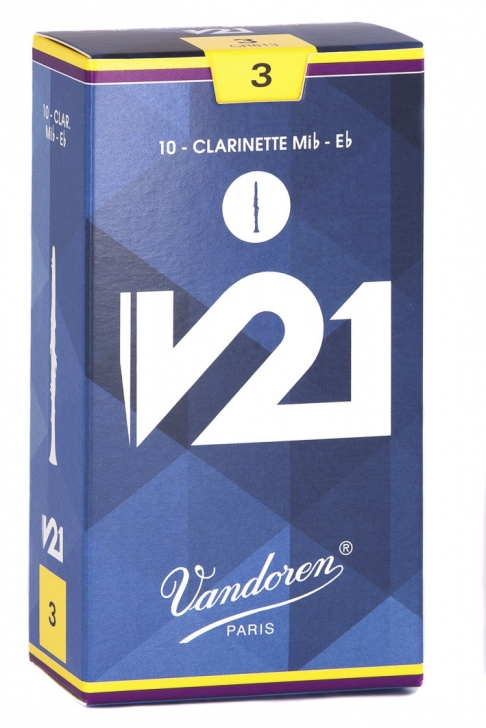 Photo Vandoren V21 Reeds for Eb Clarinet