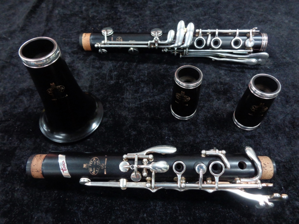 Photo Buffet Crampon - Beautiful Tosca Green Line A Clarinet, Serial #562754
