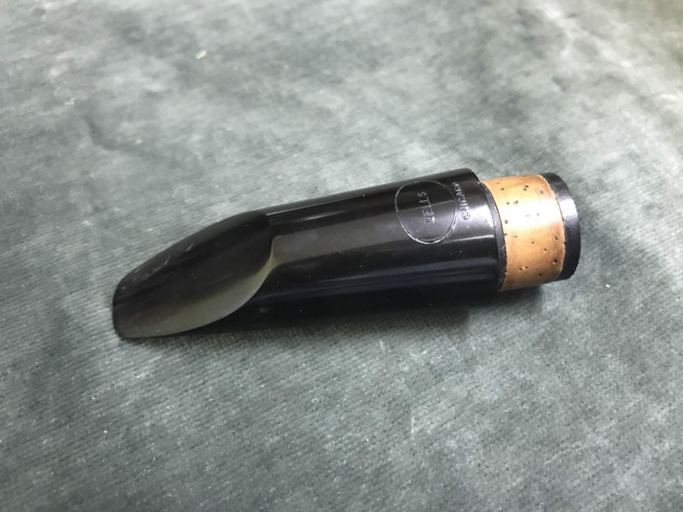 Photo Vintage Handmade Frank Wells Chicago B3 Clarinet Mouthpiece