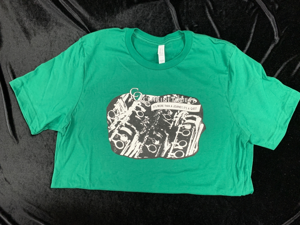 Photo Clarinetquest T-Shirt in Dark Green