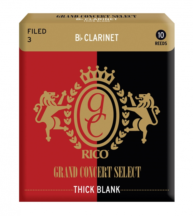 Photo Grand Concert Select Thick Blank Reeds for Bb Clarinet