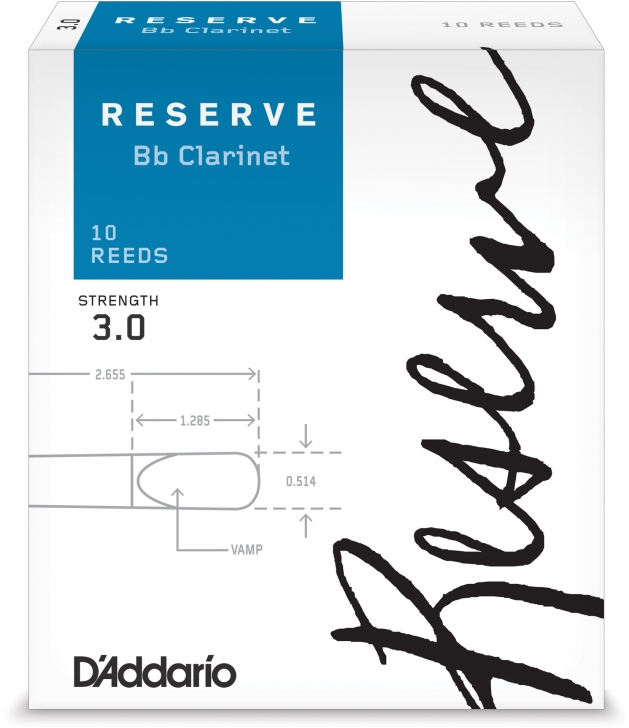 Photo D'Addario Reserve Reeds for Bb Clarinet
