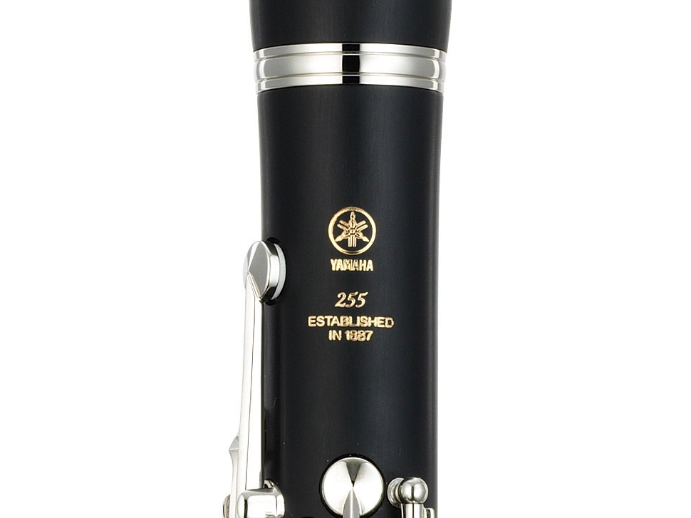 Photo New Yamaha YCL-255 Beginner Bb Clarinet
