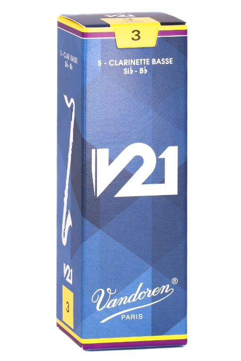 Photo Vandoren V21 Reeds for Bass Clarinet