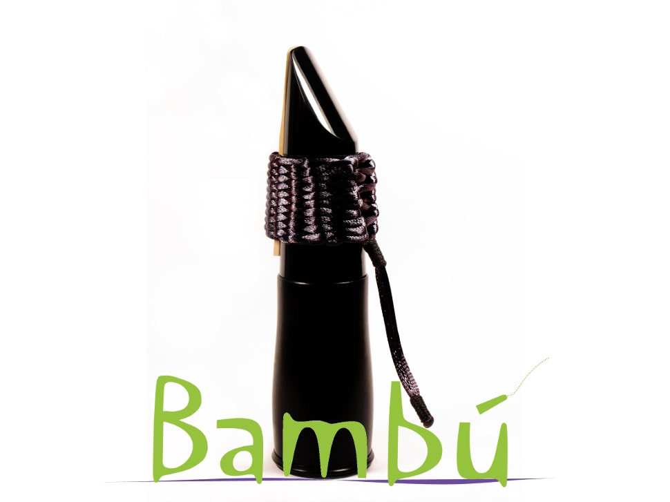 Photo New Bambu Hand Woven Ligature for Bb Clarinet