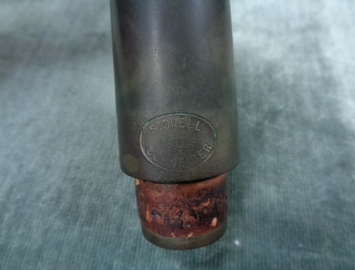 Photo Vintage Frank Wells-Stowell Hard Rubber B3 Mouthpiece for Clarinet