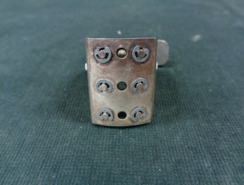 Photo NEW OLD STOCK Silver Winslow Ligature & Parts for Bb Clarinet Mouthpieces