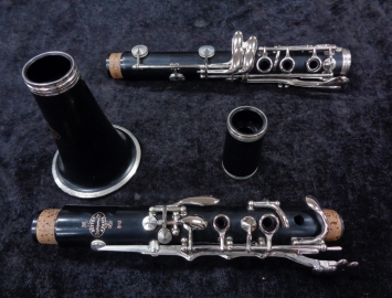 Photo Nice Buffet B12 Bb Clarinet # 806740 – Excellent Instrument with Case