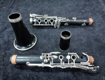 Photo Vintage Buffet Crampon Paris R13 Bb Clarinet - Serial # 106031