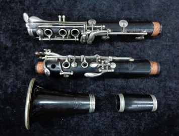 Photo Vintage Wood Buffet Crampon R13 Series Bb Clarinet - Serial # 87292