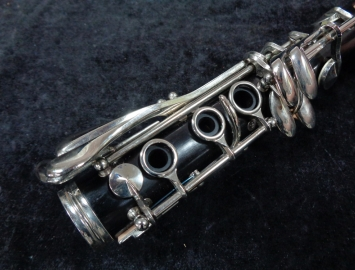 Photo Buffet Crampon Paris France R13 Bb Clarinet, Serial #577641 – Excellent Condition
