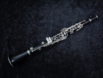 Photo Buffet Crampon Limite Bb Clarinet, Serial #K161584 – Fresh Re-Pad
