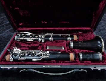 Photo 1990's Hand Selected Buffet Crampon R13 Bb Clarinet, Serial #381477