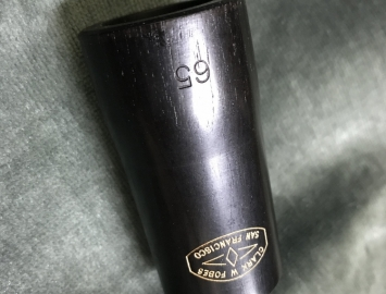 Photo Clark W Fobes Blackwood 65mm Clarinet Barrel in Excellent Condition