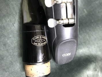 Photo Clark W Fobes San Francisco AP Model Bass Clarinet Mouthpiece
