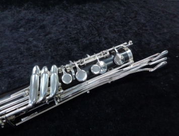 Photo New Buffet Crampon Prestige Bass Clarinet with Optional Low C Extension