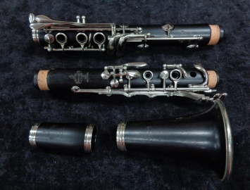Photo Fantastic! Buffet Crampon – R13 Bb Clarinet, Nickel Keys with Pro Set-up, Serial #268002