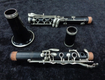 Photo Grenadilla Wood Evette By Buffet Crampon Bb Clarinet, Serial #K1556 - Great Step-up!