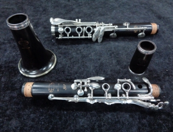 Photo NICE Buffet Crampon Paris RC Series Bb Clarinet with New Pads - Serial # 464237