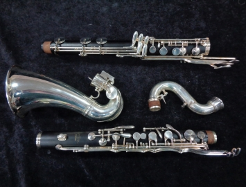Photo Yamaha YBC-621 Professional Bass Clarinet, Low Eb Serial #05298