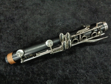 Photo Buffet R13 Bb Clarinet #706648 with Nickel Keys - Fresh Saxquest Overhaul