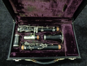 Photo Buffet Crampon Paris R13 Nickel Keys #142029 Bb Clarinet - Fresh Overhaul