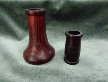 Photo Hand Selected MoBa Cocobolo Bell and Traditional Grenadilla 66m Barrel