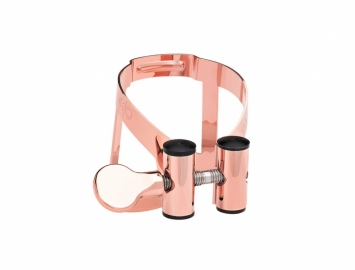 Photo Limited Edition Vandoren M|O Ligature for Bb Clarinet in Pink Gold Plate