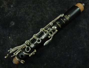 Photo Buffet Crampon Tradition A Clarinet, Nickel Keys– Beautiful Lightly Used, Serial #695112
