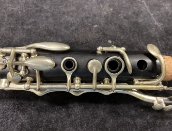 Photo Very Early Buffet R13 Bb Clarinet, Serial Number 55775