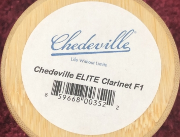 Photo Lightly Played Chedeville Elite F1 For Clarinet