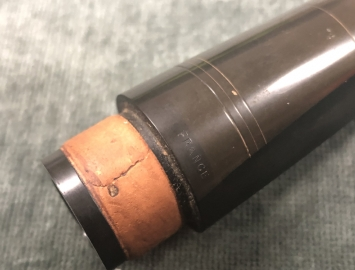 Photo Old Buffet Trippe Line Hard Rubber C Mouthpiece for Bb Clarinet