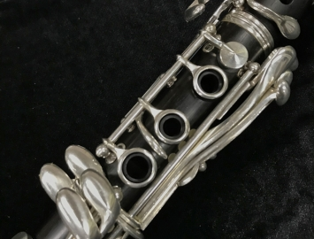 Photo Buffet Crampon R13 Prestige Bb Clarinet, Serial #260800 – Fresh Re-Pad