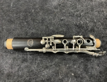 Photo Freshly Restored Evette & Shaeffer by Buffet Paris Wood Clarinet in Bb - Serial # K12901