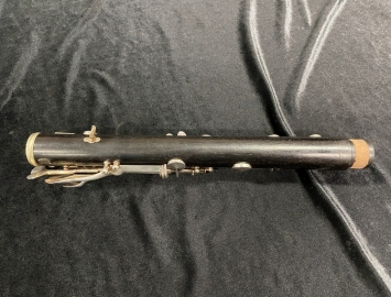 Photo Early 20s Vintage H Selmer Paris Full Boehm Clarinet in Bb - Serial # 3271