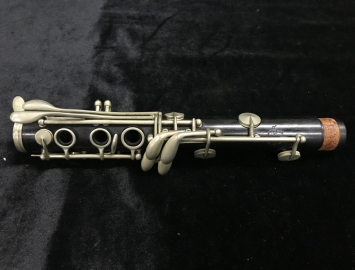 Photo Selmer Paris 1920's K Series Brevete Bb Clarinet, Serial #K6111