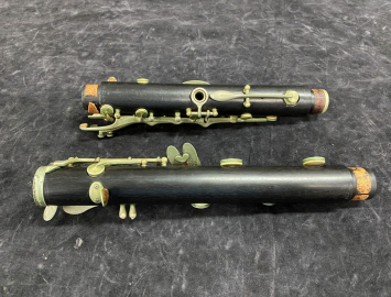 Photo Late 50s Vintage Wood Selmer Paris Centered Tone Bb Clarinet - Serial # R3268