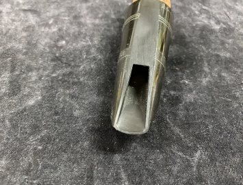 Photo Vintage Bob Mario Custom Clarinet Mouthpiece on French Blank - Measures .045