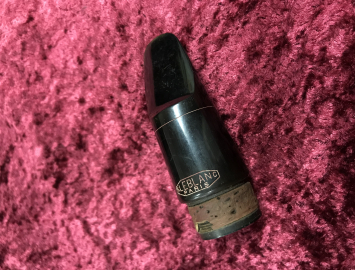 Photo Vintage Leblanc Paris Hard Rubber Mouthpiece For Bass Clarinet - 1.07mm