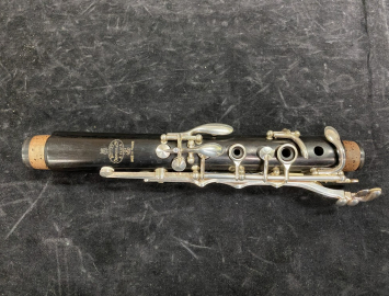 Photo Lightly Used Buffet Paris R13 Clarinet in A with Silver Keys - Serial # 655678