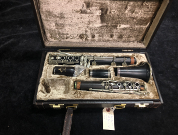 Photo Buffet Crampon Full Boehm Bb Clarinet Pre-R13, Serial #17126
