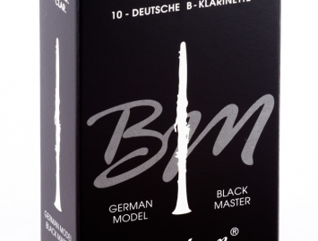 Photo Vandoren Black Master Reeds for Bb Clarinet
