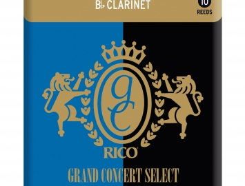 Photo Grand Concert Select Traditional Reeds for Bb Clarinet