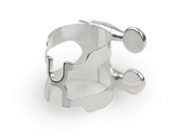 Photo Silver Plated Rico H Ligature for Bb Clarinet