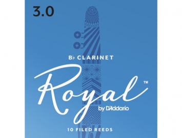 Photo Royal by D'Addario Reeds for Bb Clarinet