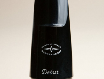 Photo NEW Clark W Fobes Debut Mouthpiece for BBb Contrabass Clarinet