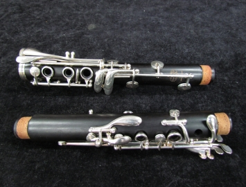 Photo Buffet R13 Silver Key Bb Clarinet, Serial #499356