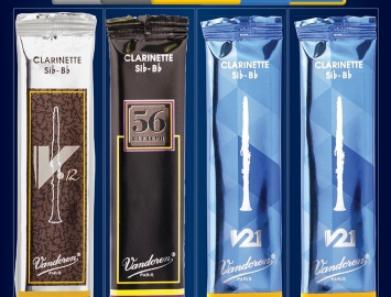 Photo New Vandoren Clarinet Mix Card Reeds for Bb Clarinet